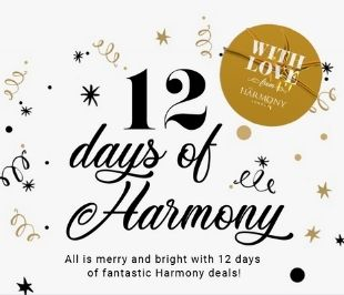12 Days of Harmony - Day 8 - 50% OFF these 8
