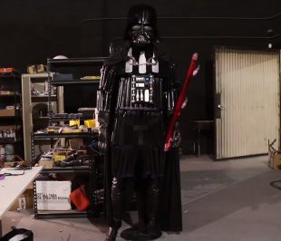 Behold! Darth Vader made from sex toys