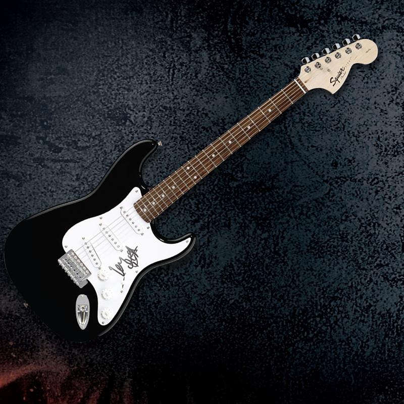 WIN! A Guitar signed by Motörhead lead singer!