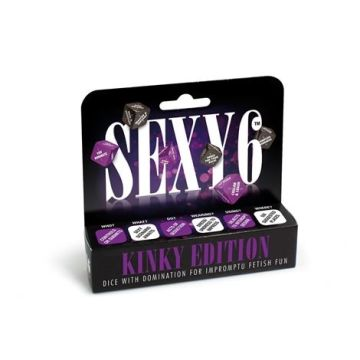Sexy 6 Kinky Edition Roleplay Dice by CC Games