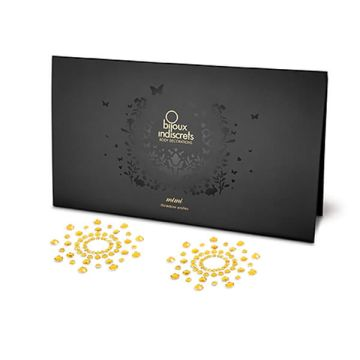 Bijoux Indiscrets Mimi Gold Nipple Covers Pack