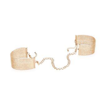 Bijoux Indiscrets Gold Magnifique Handcuffs