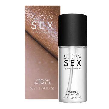 Slow Sex Warming Massage Oil 50ml