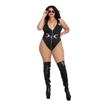Dreamgirl Plus Size Officer Naughty Bedroom Costume