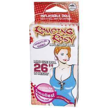 Romping Rosy Mini Inflatable Sex Doll