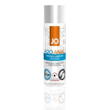 System JO Anal H2O Warming Water-Based Lubricant - 60ml
