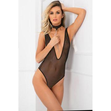 Rene Rofe Choke Out Sexcessory Bodysuit - RR50008