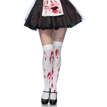 Leg Avenue Bloody Zombie Thigh Highs