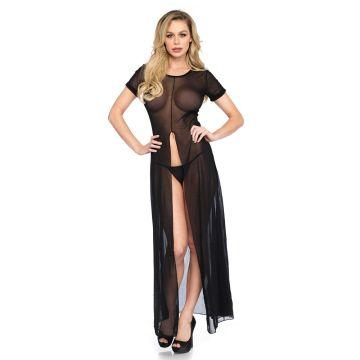 Leg Avenue Sheer Mesh Long Dress