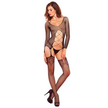 Leg Avenue Net Suspender Body Stocking