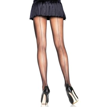 Leg Avenue Backseam Sheer Pantyhose