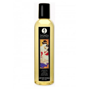 Shunga Erotic Massage Oil - Rose