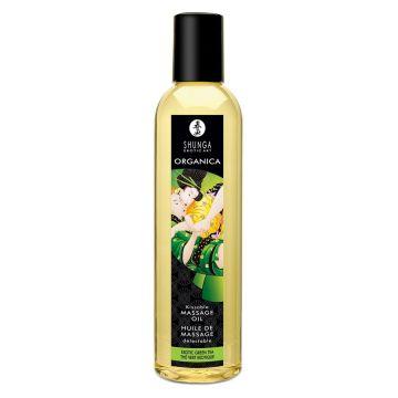 Shunga Erotic Massage Oil - Green Tea