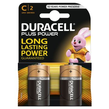 Duracell C Batteries 2 Pack