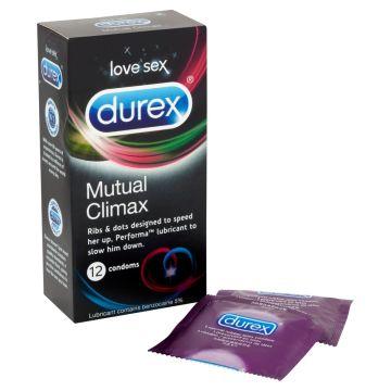 Durex Mutual Climax Condoms 12 Pack