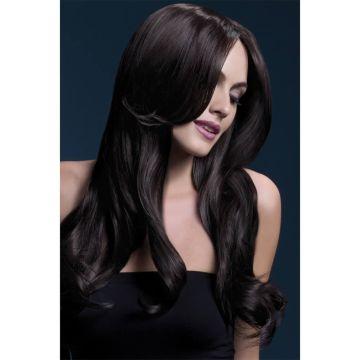 Fever Brunette Long Wig