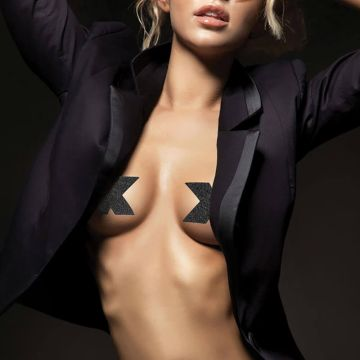 Bijoux Indiscrets Flash Cross Nipple Covers