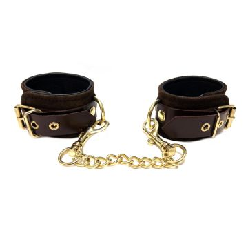 Rouge Fifty Times Hotter Wrist Cuffs - Brown