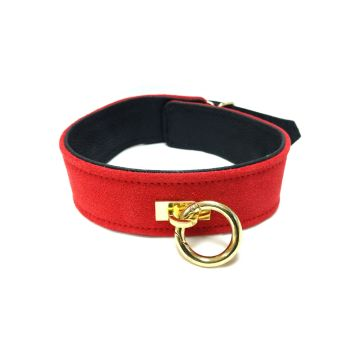 Rouge Fifty Times Hotter Plain Collar - Red