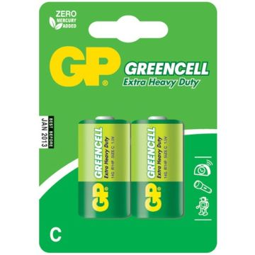 Greencell C Size Batteries