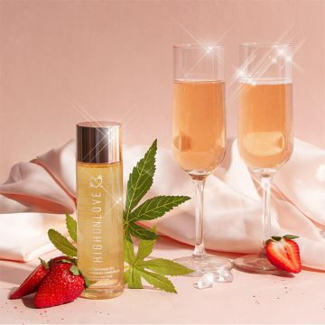 High On Love - Massage Oil - Strawberries & Champagne