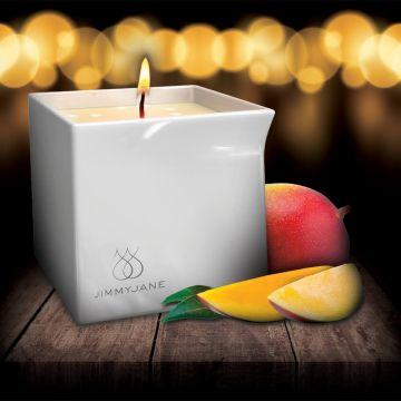 Jimmyjane Afterglow Natural Massage Oil Candle Mystic Mango