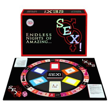 Endless Nights of Amazing Sex! Board Game for Adults