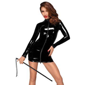 Noir Handmade PVC Long Sleeve Mini Dress