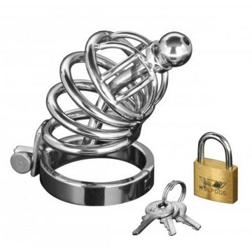 Master Series Chastity Devices Asylum 4 Ring Cock Cage