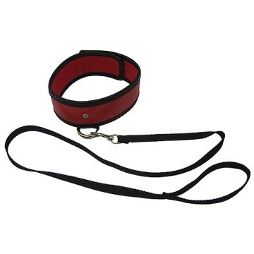 Sex & Mischief Red Leash and Collar