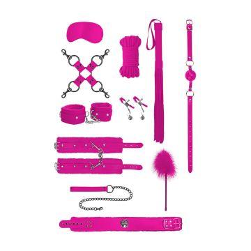 Ouch! Intermediate Bondage Kit-Pink