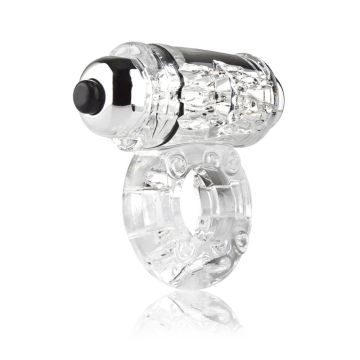 Screaming O Owow Super-Powered Vibrating Clear Cock Ring