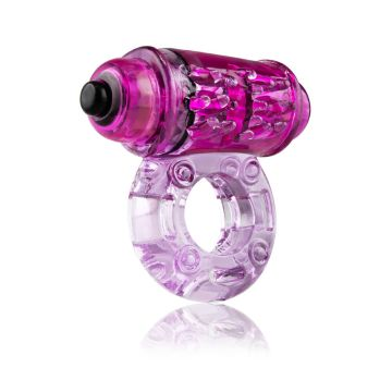 Screaming O Owow Super-Powered Vibrating Purple Cock Ring