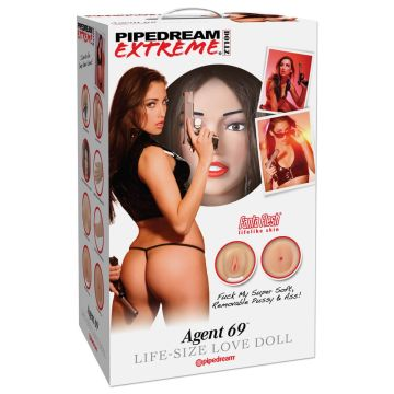Pipedream Extreme Dollz Agent 69 Life-Size Love Doll