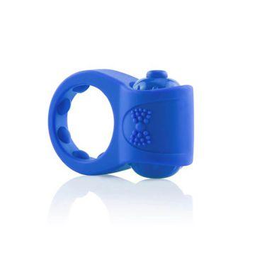 Screaming O Primo Tux Vibrating Blue Cock Ring