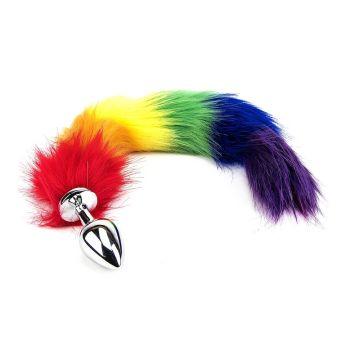 Furry Fantasy Rainbow Tail