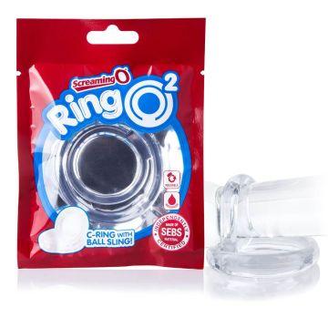 Screaming O RingO2 Clear Cock Ring