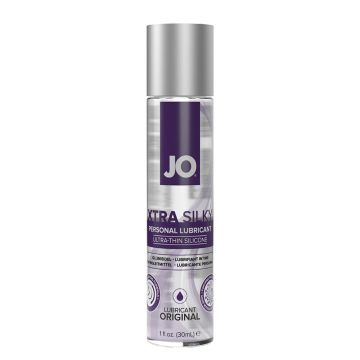 JO Xtra Silky Ultra Thin Silicone Lubricant 30ml