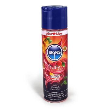 Skins Mango and Passionfruit Flavoured Water Based Lubricant 130ml