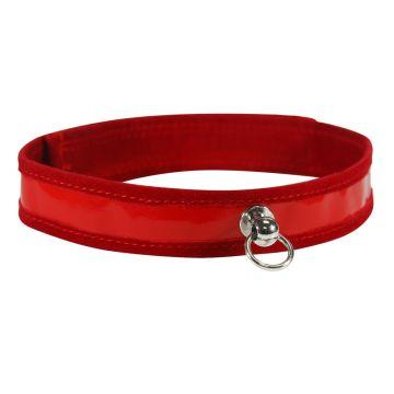 Sex & Mischief Red Day Collar