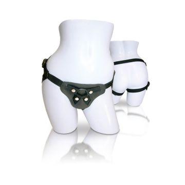 Sportsheets Latigo Leather Strap-On Harness