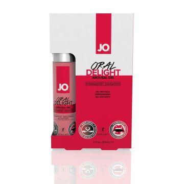 System JO Oral Delight Arousal Gel – Strawberry Sensation