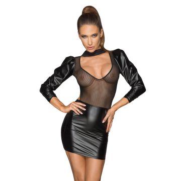 Noir Handmade Tulle Choker Dress