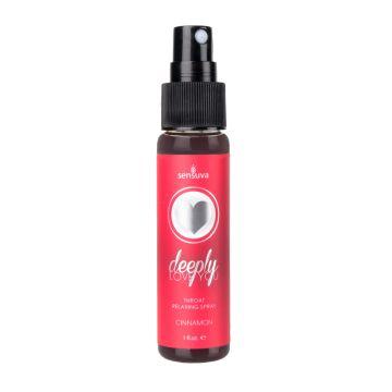 Sensuva | Deeply Love You Throat Relaxing Spray – Cinnamon