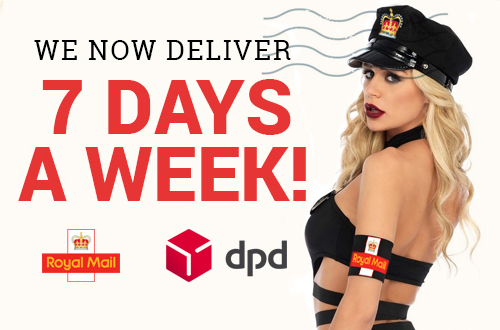 Seven day a week delivery at Harmony Store