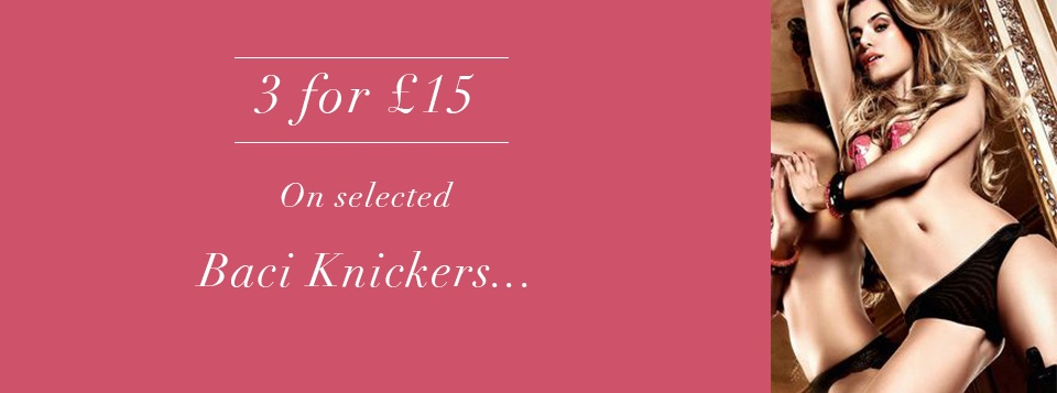 3 for £15 Knickers