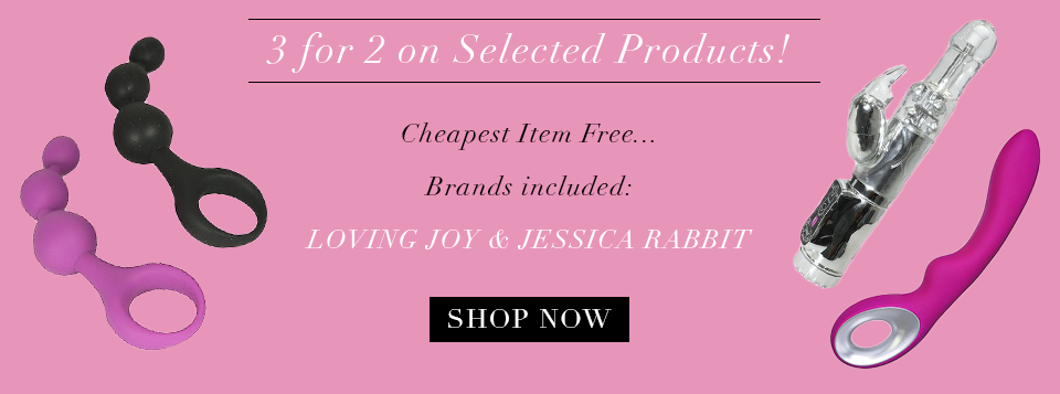 3 for 2 selected Loving Joy and Jessica Rabbit Products