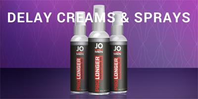 Delay Creams and Sprays Click Here