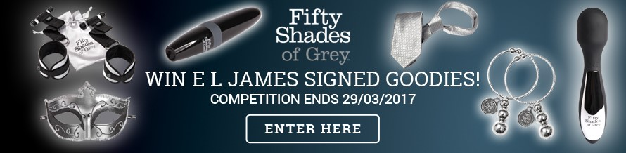 Fifty Shades of Grey Competition Banner