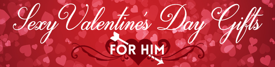 For Him Valentines Banner